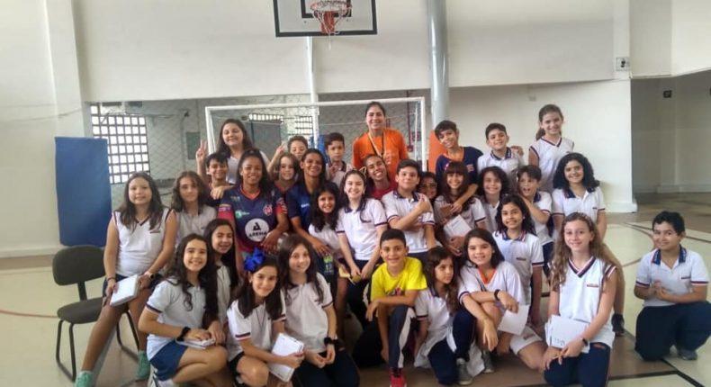 5° ano e o futebol feminino