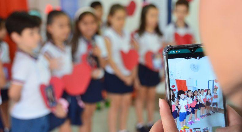 Quarta Cultural - Dia dos Professores - Homenagem 1° ano