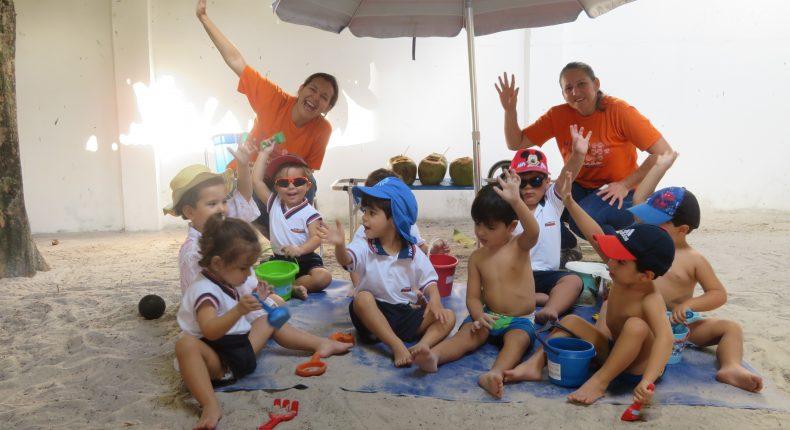 "Infantil II em: ""Praia de Waikiki"", de David Howard Hitchcock"